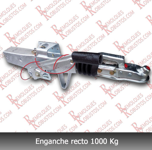 Enganche recto 1000kg tubo de 60mm